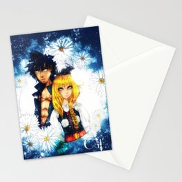 The Warrior and the girl Stationery Cards