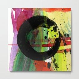 Enso No. 305 by Kathy Morton Staniono Metal Print