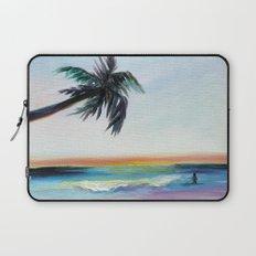 Be Back At Sunset Laptop Sleeve