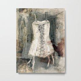 corsage-collage Metal Print