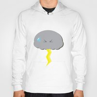 poop Hoodies featuring Cloud Poop by NotRightYet