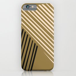 Dorm abstract line iPhone Case