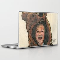 marc Laptop & iPad Skins featuring Bear Suit Marc by Kyle Miller