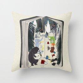 the big book of jazz Throw Pillow