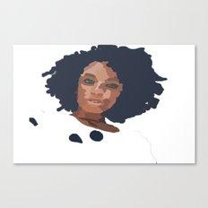 Natural Hair  Canvas Print