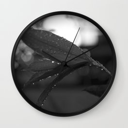 Tropical Rains Wall Clock