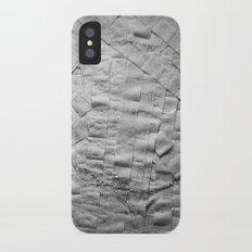 Smile on toilet paper iPhone X Slim Case