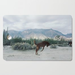 Bucking in Baja Cutting Board