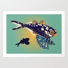 Ocean Fish Art Print