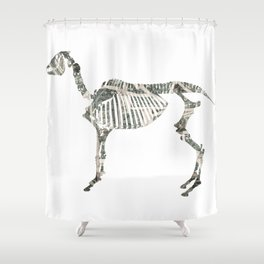 year of the horse: part 2 Shower Curtain
