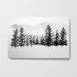 Old Pine III Metal Print