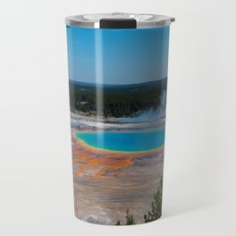 Grand Prismatic Spring, Yellowstone Travel Mug