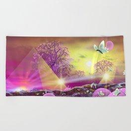 Profound Presence Beach Towel