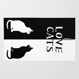 OPPOSITES LOVE: CATS Rug