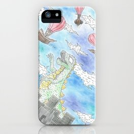 Downtown Madness iPhone Case