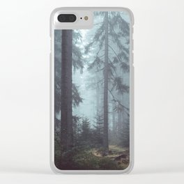 Dreamy Journey Clear iPhone Case