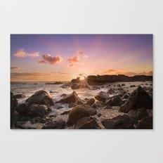 Splash of Sunset Canvas Print