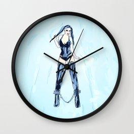 Bound Angel Wall Clock