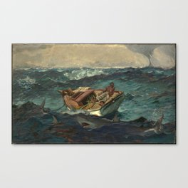 The Gulf Stream, by Winslow Homer Canvas Print