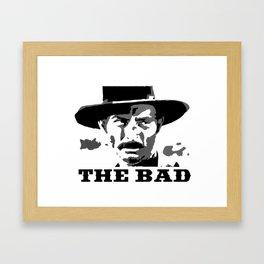 The Bad Framed Art Print