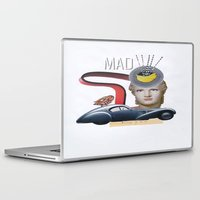 mad Laptop & iPad Skins featuring mad by fromdelphine