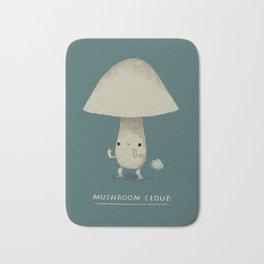 mushroom cloud Bath Mat