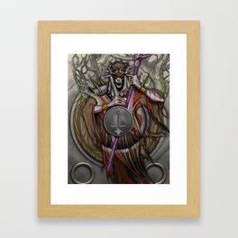 In the Halls of the Mage-King Framed Art Print