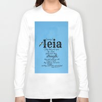 leia Long Sleeve T-shirts featuring Leia by KimberosePhotography