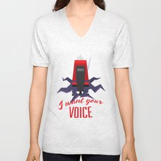 I want your VOICE Unisex V-Neck