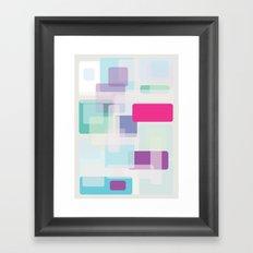 Shape series 3 Framed Art Print