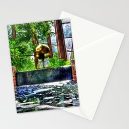 Fountain at the Omni Stationery Cards