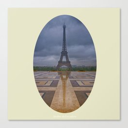 Jardins du Trocadero Canvas Print