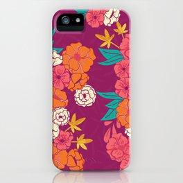 Jungle Pattern 005 iPhone Case