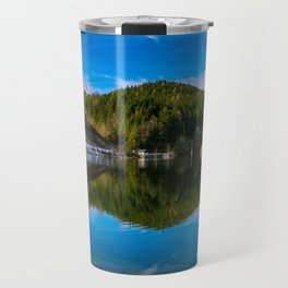 Autumn meets winter Travel Mug