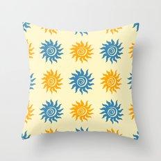 Summer print Throw Pillow