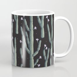 Beautiful cacti bloom Coffee Mug
