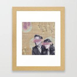 Feminine Collage IV Framed Art Print