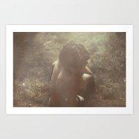 Child, In The Light Art Print