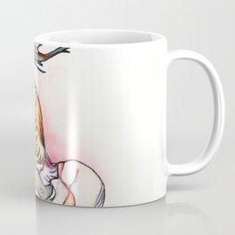Her blade, nude female dancer, NYC artist Coffee Mug
