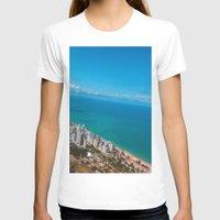 brazil T-shirts featuring Brazil Beach by Mauricio Santana