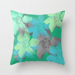 Flowers 565 Throw Pillow