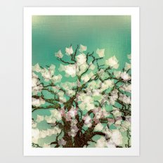 Magical Winter Art Print