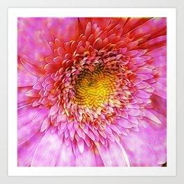 Pixie Dust Flower Art Print