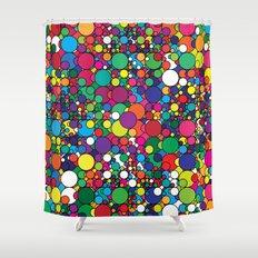 Covalent Geometric Art Print. Shower Curtain