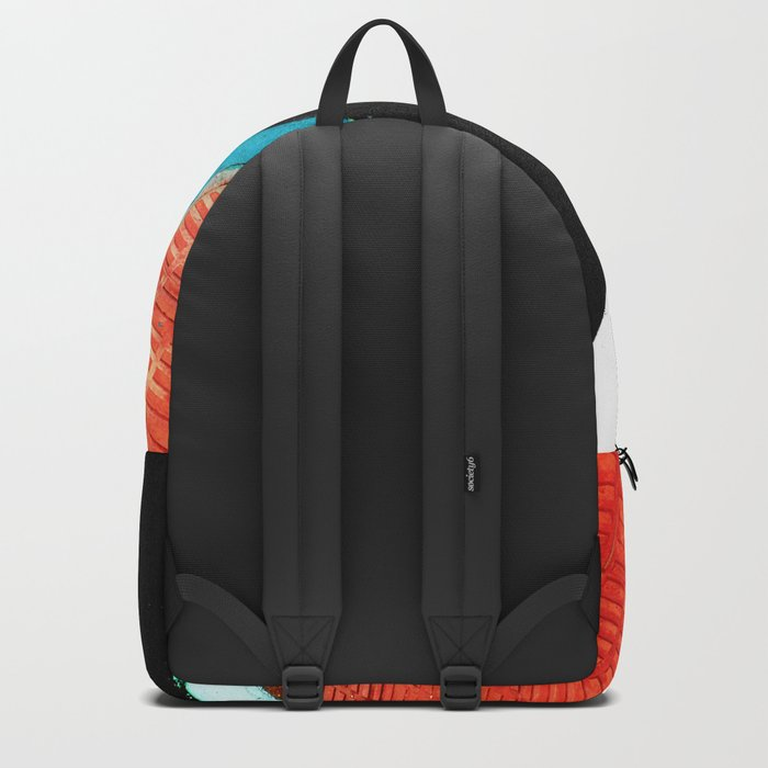 Urban Street Art Painting Backpack