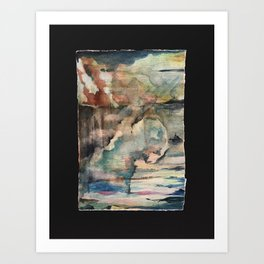 Fear Not Each Sudden Sound and Shock Art Print