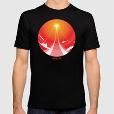 Flying High 2X-LARGE Mens Fitted Tee Black