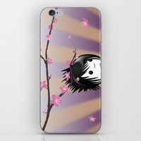 asia iPhone & iPod Skins featuring Zen Cumi by Goat Games