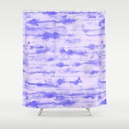 Stratus Ultraviolet Shower Curtain