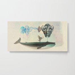 Leptomedusa cetacea Metal Print